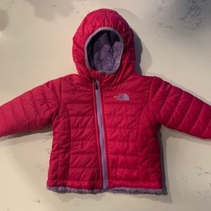 North Face Infant Reversible Mossbud Jacket